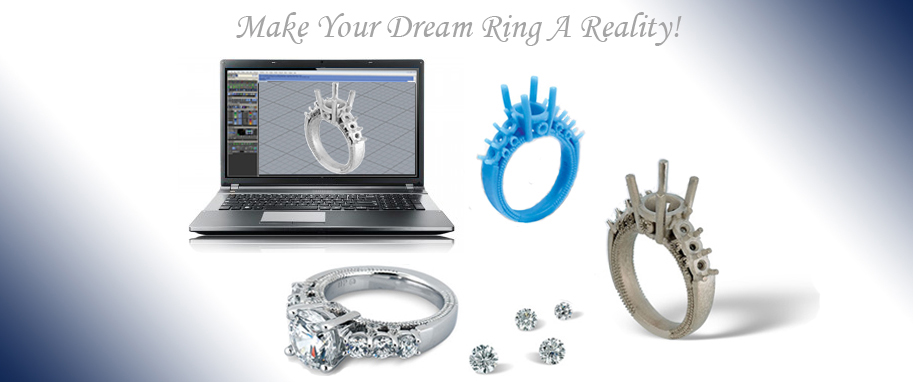 Custom Diamond Engagement Rings Ring Settings Ring Enhancers